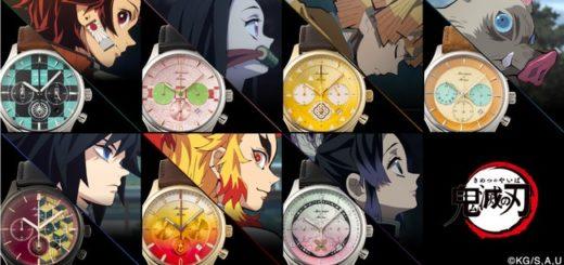 鬼滅の刃コラボグッズ腕時計|「TiCTAC」(チックタック)で映画公開記念キャラクターデザインウォッチ発売!いつから?