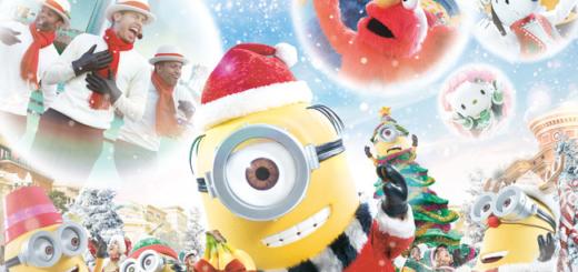 USJクリスマス2020 いつから?ハッピー・クリスマス・ストリート・パーティ開催!ミニオンなど人気キャラクター登場