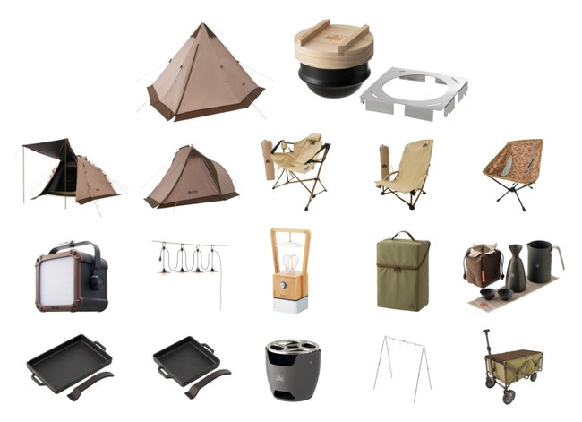 ロゴス2021年最新キャンプグッズ