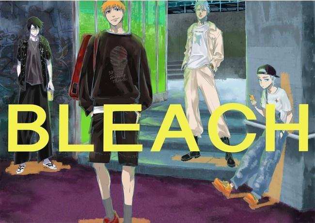 BLEACH(ブリーチ)×東京ガールズコレクションコラボマイナビ TGCアパレルアイテム予約パーカー・Tシャツ・グッズ