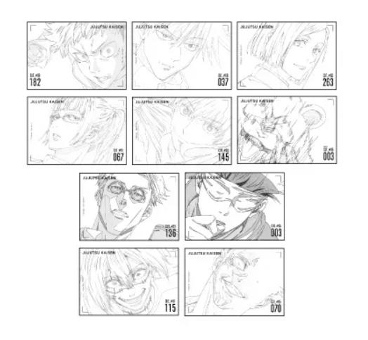 10呪術廻戦TSUTAYA(ツタヤ)ミニ原画展いつ原画集予約・グッズ販売・購入特典ポストカードプレゼント