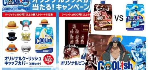 1ワンピース×クーリッシュ(アイス)コラボ発売!グッズが当たるプレゼントキャンペーン実施|コンビニ販売