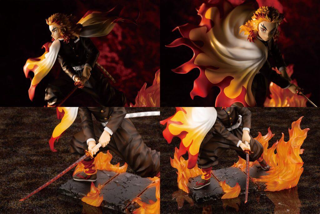 4鬼滅の刃「煉獄杏寿郎1-8完成品フィギュアARTFX J」予約・注文開始!きめつ・れんごくグッズ通販|コトブキヤ