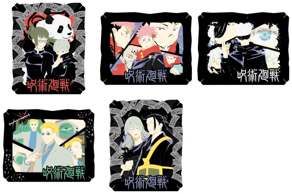 3呪術廻戦「ペーパーシアター」予約・注文開始!じゅじゅつグッズ(ペーパークラフトキットで)通販