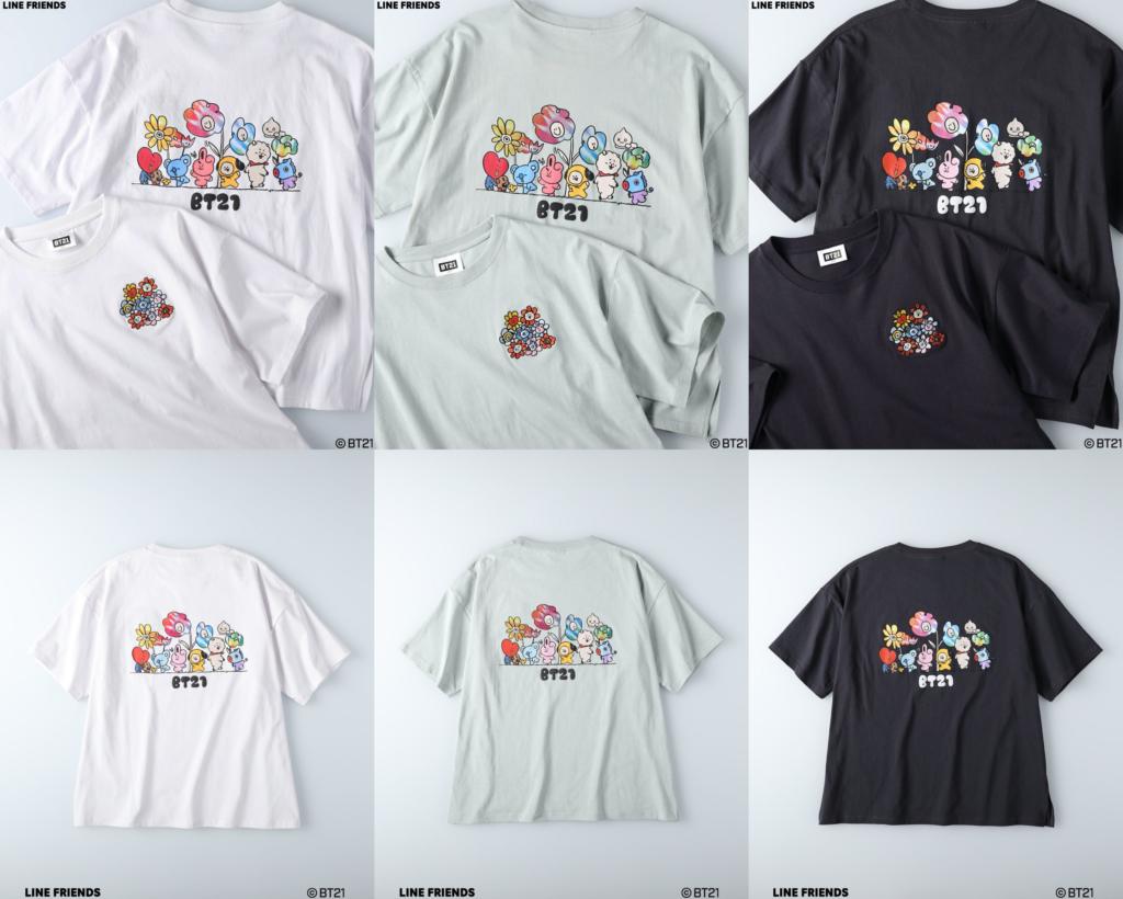 2-2「BT21×ライトオン」コラボTシャツ先行予約・販売開始!グッズ通販・取扱い店舗|LINE人気キャラクター