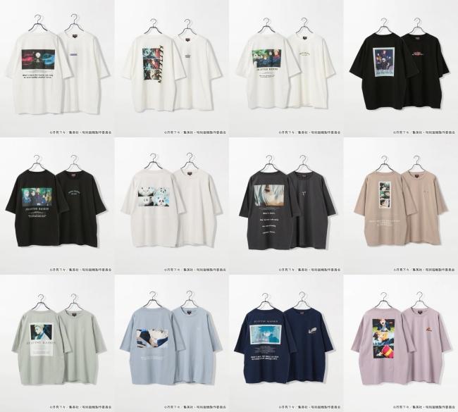 3「呪術廻戦×RAGEBLUE(レイジブルー)」コラボ先行予約!いつ?Tシャツ、アクリルスタンドなどグッズ販売・通販