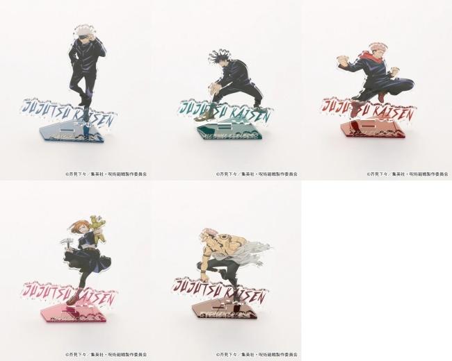 3-2「呪術廻戦×RAGEBLUE(レイジブルー)」コラボ先行予約!いつ?Tシャツ、アクリルスタンドなどグッズ販売・通販