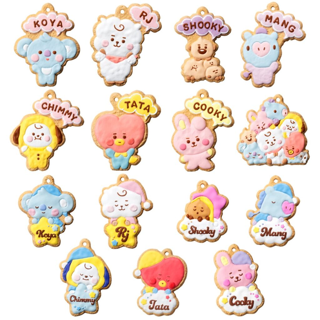 3BT21「クッキーチャームコット」予約・販売!いつ?グッズ通販・取扱い店舗|LINE人気キャラクターマスコット