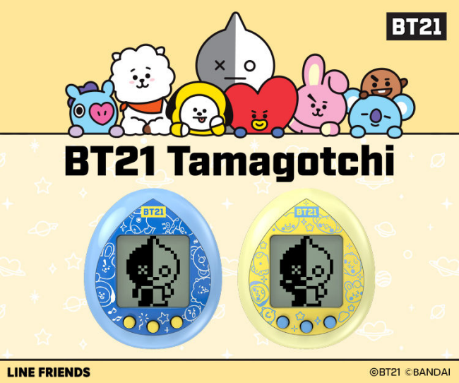 4BT21「たまごっち」コラボ予約・注文開始!グッズ通販・取扱い店舗LINE人気キャラクター