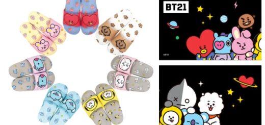 BT21サンダルチケットぴあ通販サイトにて販売!「BT21 BABY」グッズ・発売日・種類|LINE人気キャラクター