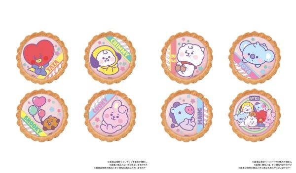 3BT21「いちごタルト」がファミマ(コンビニ)数量限定発売!グッズ・お菓子販売 LINE人気キャラクター