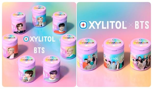 BTS×キシリトールガム(第1弾)コラボボトル限定発売!いつ?10種類ラインナップ・グッズ販売