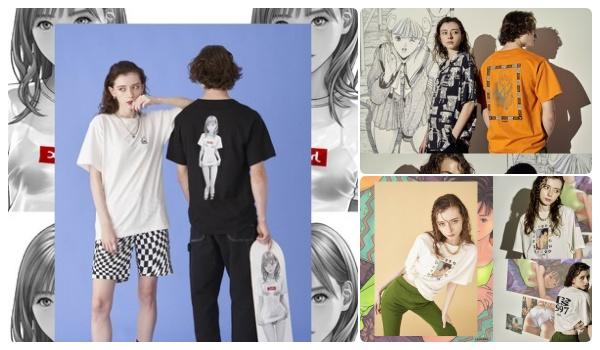 X-girl(エックスガール)×漫画家の桂正和氏コラボTシャツ発売!いつ?「ウイングマン」・「電影少女」・「Is(アイズ)」など