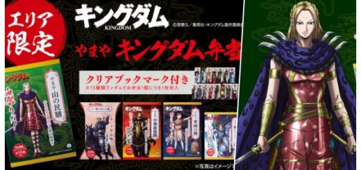 「キングダム×やまや」コラボ弁当シリーズ第2弾が限定発売!グッズ・クリアブックマーク付き|販売場所どこ?