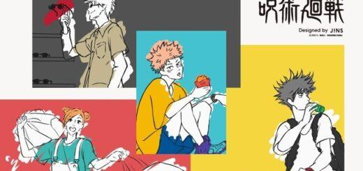 「JINS(ジンズ)×呪術廻戦」コラボメガネ発売!7型7種【虎杖、伏黒、五条モデルなど】店舗・オンラインで受注販売開始!