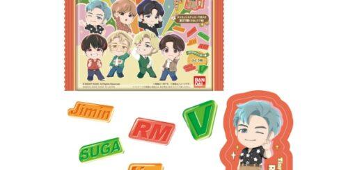 1TinyTAN(タイニータン)「グミ」予約・販売!BTSグッズ(ステッカー付き食玩・お菓子)通販・取扱い店舗|バンダイ
